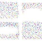 4 Confetti Background (PNG Transparent)