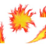 4 Fire Flame (PNG Transparent)