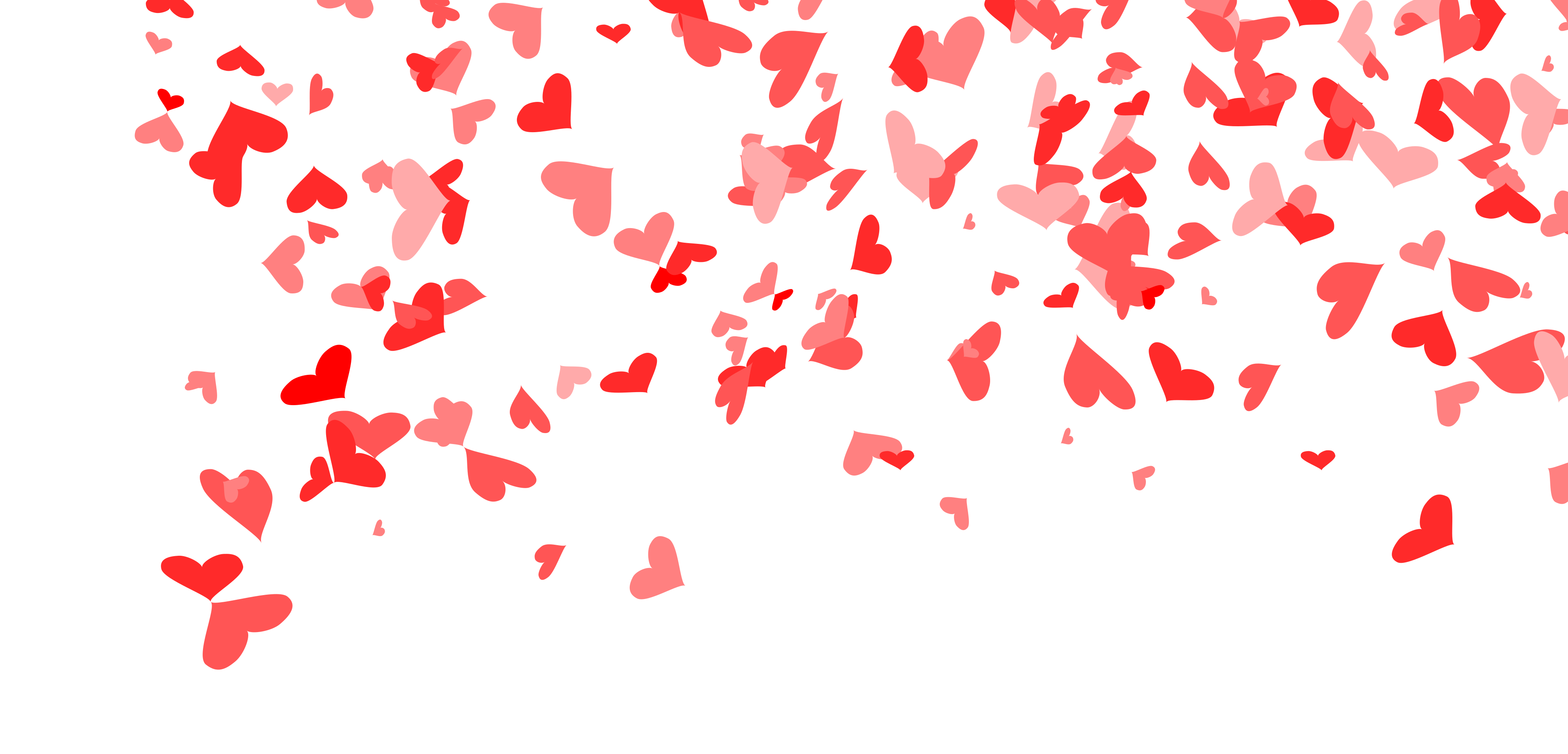 4 Heart Confetti Background Png Transparent Onlygfx Com