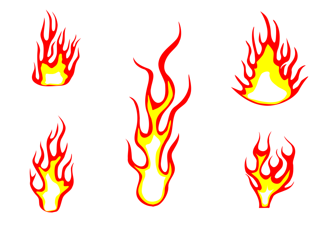 5 Fire Flame Clipart Png Transparent Onlygfx Com