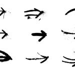 9 Spray Paint Arrow (PNG Transparent)