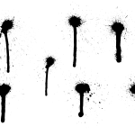 7 Spray Paint Drip (PNG Transparent)