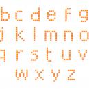 Lowercase Pixel Alphabet Vector (PNG Transparent, SVG)