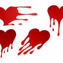 4 Heart Drip (PNG Transparent)