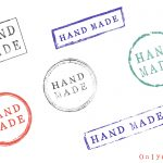 6 Grunge Hand Made Stamp (PNG Transparent)