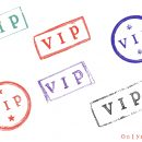 6 Grunge Vip Stamp (PNG Transparent)