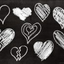 9 Chalk Heart (PNG Transparent)