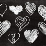 9 Chalk Heart (PNG Transparent)