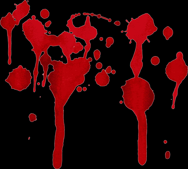 8 Blood Splatter Drip (PNG Transparent)   OnlyGFX.com