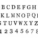6 Set Stamp Fonts (PNG Transparent, SVG)