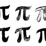 6 Grunge Pi Symbol (PNG Transparent)