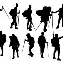 10 Hiker Silhouette (PNG Transparent)