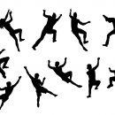 10 Climber Silhouette (PNG Transparent)