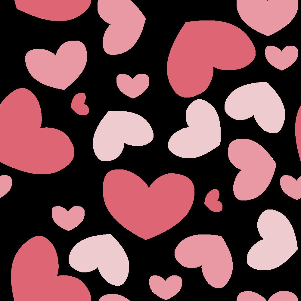 6 Pink Heart Pattern (PNG Transparent) | OnlyGFX com