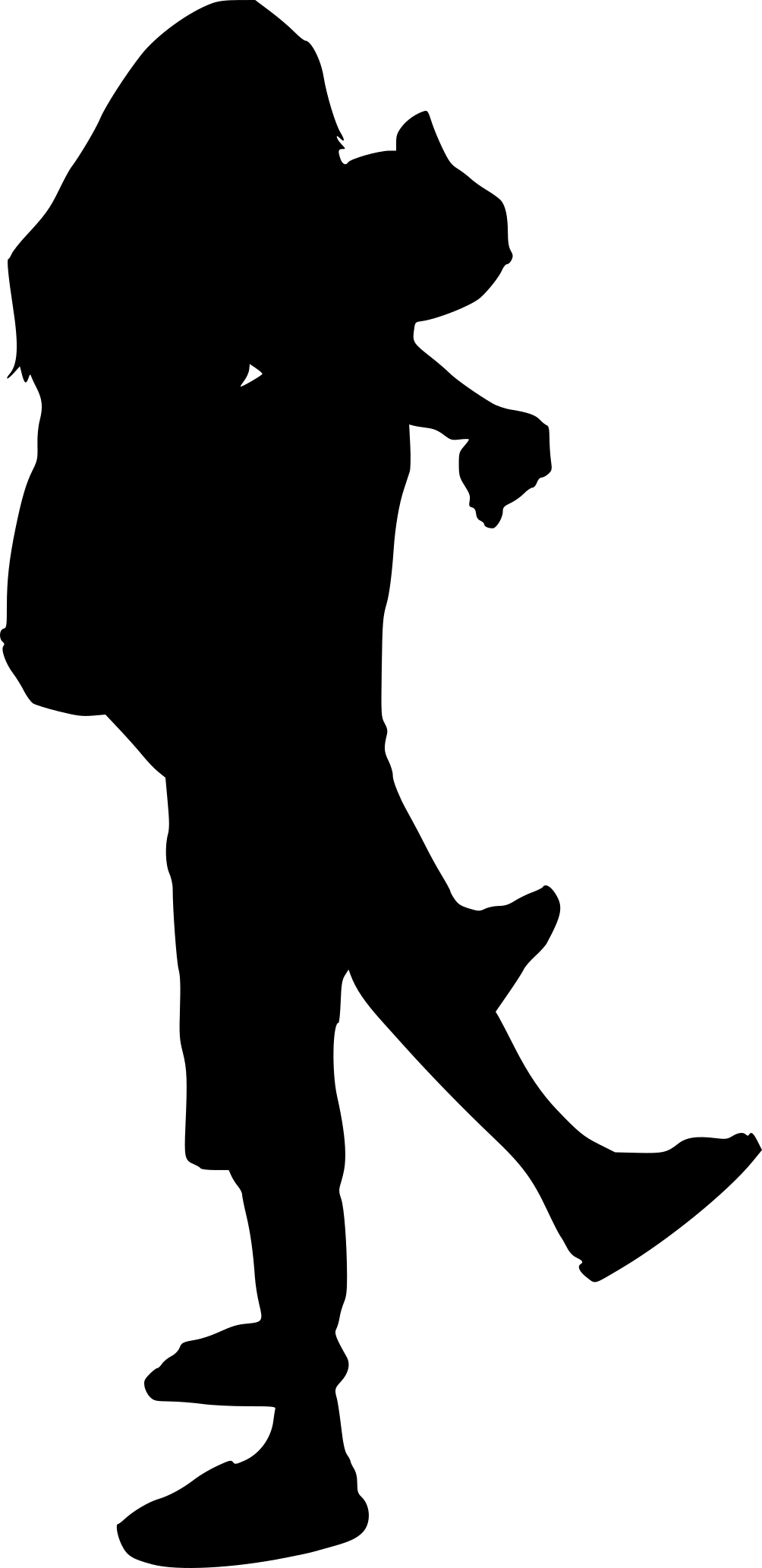 8 People Hugging Silhouette (PNG Transparent)   OnlyGFX.com