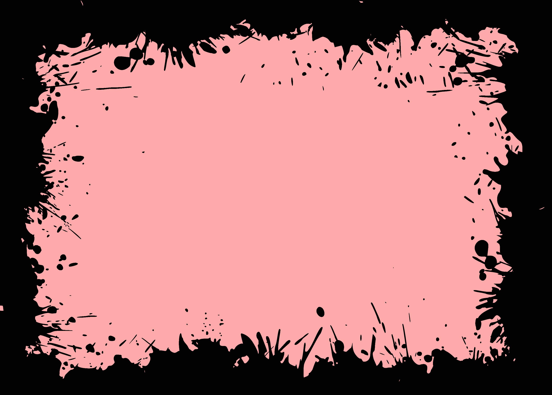8 Black Splatter Frame (PNG Transparent) | OnlyGFX.com