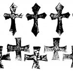 10 Grunge Gothic Cross (PNG Transparent)