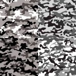 4 Urban Grey Camouflage Texture Tile (PNG Transparent)