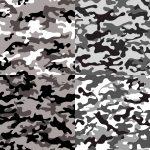 4 Urban Grey Camouflage Texture Tile (PNG Transparent)