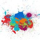 10 Colorful Splatter (EPS, SVG)