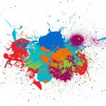 10 Colorful Splatter (EPS, SVG)