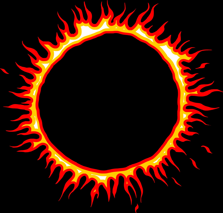 6 Cartoon Fire Circle Vector (EPS, SVG, PNG Transparent ...
