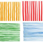 4 Watercolor Stripes Background (JPG)