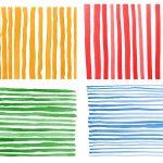 4 Watercolor Stripes Background (JPG)
