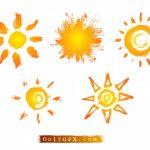 Grunge Sun Vector (EPS, SVG, PNG Transparent)