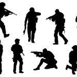Swat Silhouette (PNG Transparent)