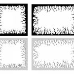 Cartoon Crackle Frame Vector (EPS, SVG, PNG Transparent)