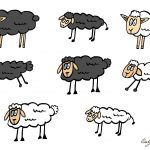 Cartoon Sheep Vector (EPS, SVG, PNG Transparent)