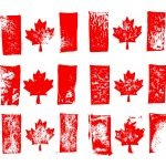 Grunge Flag of Canada (PNG Transparent)