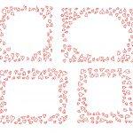 Heart Doodle Frame Vector (EPS, SVG, PNG Transparent)