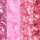 Pink Camouflage Background (PNG Transparent)
