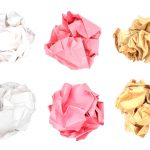 Crumpled Up Ball Paper (PNG Transparent)