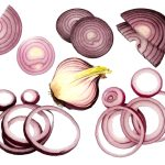 Sliced Onion (PNG Transparent)