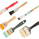 Used Paint Brushes (PNG Transparent)