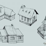 House Drawing Vector (EPS, SVG, PNG Transparent)