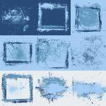 Blue Grunge Background (JPG)