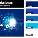 Blue White Color Palette