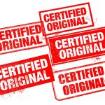 Certified Original Stamp (PNG Transparent)