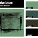 Military Green Color Palette