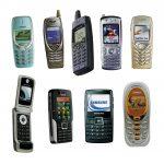Old Mobile Phones (PNG Transparent)