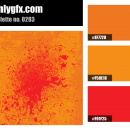 Orange Red Color Palette