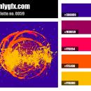Purple Orange Yellow Color Palette