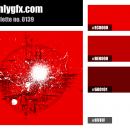 Red White Color Palette