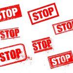Stop Stamp (PNG Transparent)