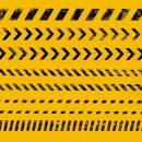 Grunge Warning Line (PNG Transparent)