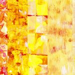 Yellow Abstract Painting Backgrounds (JPG)